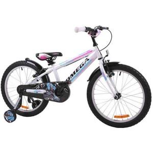 "Bicicleta copii OMEGA Master 2018, 16"", alb"