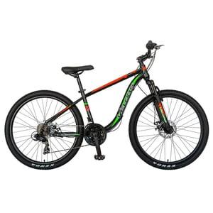 "Bicicleta Mountain Bike VELORS V2611B 26"", Otel, negru-rosu"