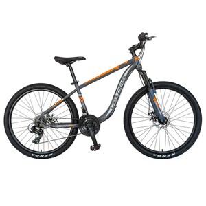 "Bicicleta Mountain Bike VELORS V2611B 26"", Otel, gri-portocaliu"