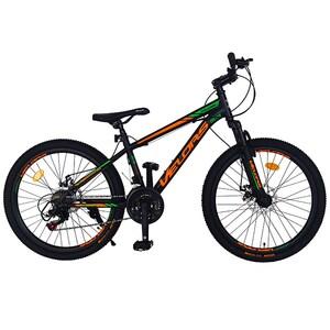 "Bicicleta MTB VELORS V2410A, 24"", otel, negru-portocaliu"