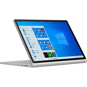 "Laptop 2 in 1 MICROSOFT Surface Book 3, Intel Core i7-1065G7 pana la 3.9GHz, 15"" Touch, 16GB, SSD 256GB, NVIDIA GeForce GTX 1660 Ti Max-Q Design 6GB, Windows 10 Home, platinum"