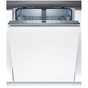 Masina de spalat vase incorporabila BOSCH SMV45GX03E, 12 seturi, 5 programe, 60 cm, clasa A+, alb
