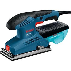 Slefuitor cu vibratii Bosch Professional GSS 23 A 0601070400, 190W, 12000RPM, foaie 92x182mm