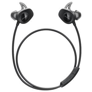 Casti BOSE SoundSport Wireless 761529-0010, Bluetooth, NFC, In-Ear, Microfon, negru