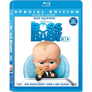 Cine-i sef acasa? Blu-ray (Combo 3D+2D)