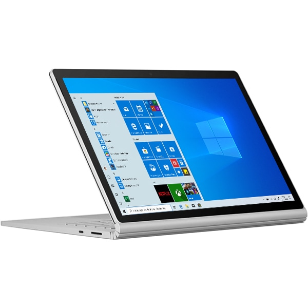 "Laptop 2 in 1 MICROSOFT Surface Book 3, Intel Core i7-1065G7 pana la 3.9GHz, 13.5"" Touch, 32GB, SSD 512GB, NVIDIA GeForce GTX 1650 Max-Q Design 4GB, Windows 10 Home, platinum"
