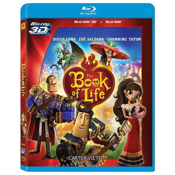 Cartea vietii Blu-ray 3D + 2D