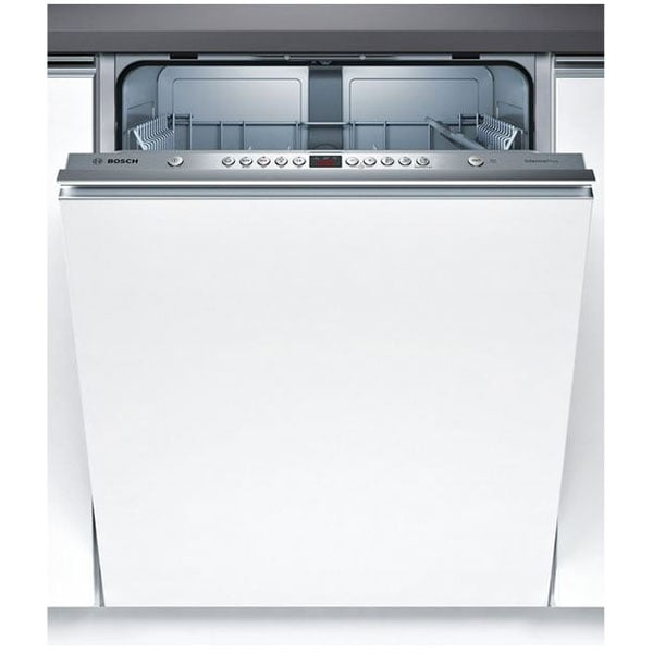 Masina de spalat vase incorporabila BOSCH SMV45GX03E, 12 seturi, 5 programe, 60 cm, Clasa F, alb