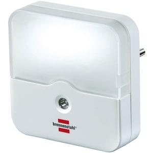 Lampa de veghe LED BRENNENSTUHL 152172, 0.85W, IP20, senzor lumina, alb