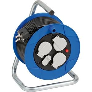 Prelungitor cu protectie BRENNENSTUHL Garant 188993, 3 prize, 2 x USB, 15m, albastru