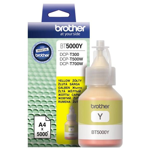 Cerneala BROTHER BT-5000Y, galben