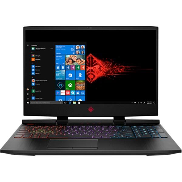 """Laptop Gaming Omen by HP 15-dc0002nq, Intel Core i5-8300H pana la 4.0GHz, 15.6"""" Full HD, 8GB, 1TB, NVIDIA GeForce GTX 1050 Ti 4GB, Windows 10 Home"""