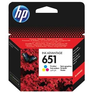 Cartus HP 651 (C2P11AE), tricolor