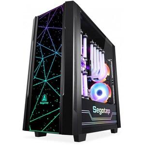 Carcasa SEGOTEP Phoenix K3, USB 3.0, negru