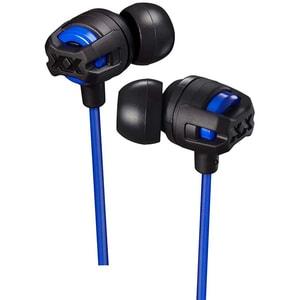 Casti JVC HA-FX103M-AE, Cu Fir, In-Ear, Microfon, albastru