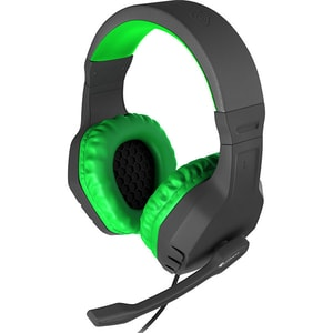 Casti Gaming NATEC Genesis Argon 200, stereo, 3.5mm, verde
