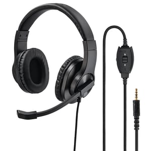 Casti PC HAMA Office HS-P350, 3.5mm, negru