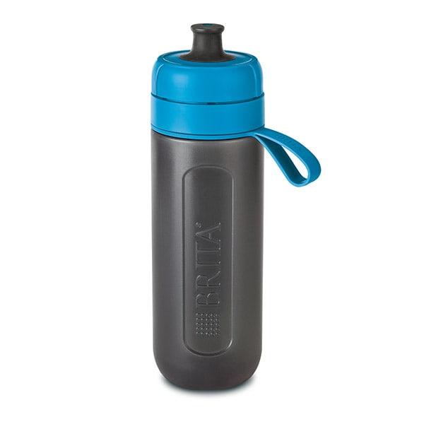 Sticla filtranta BRITA Fill&Go Active BR1020336, 0.6l, albastru-gri