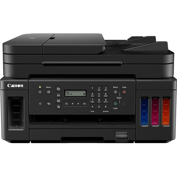 Multifunctional inkjet color CANON Pixma G7040 CISS, A4, USB, Retea, Wi-Fi, Fax