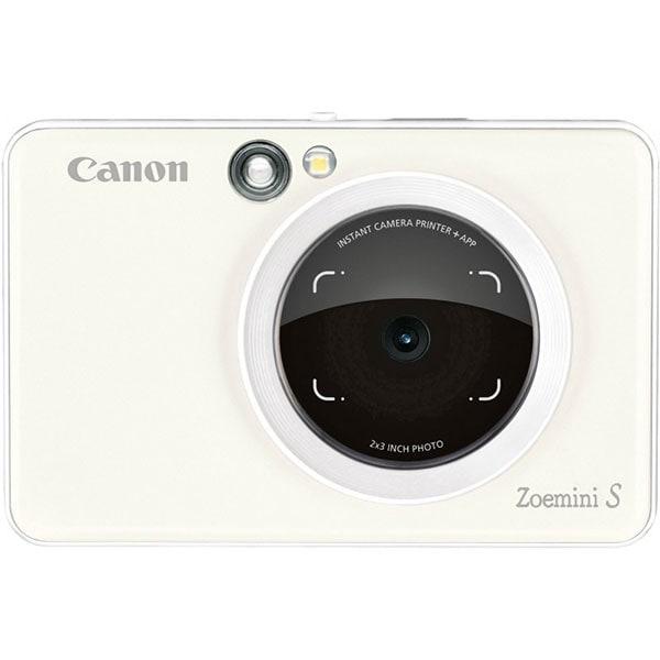 Aparat foto instant CANON Zoemini S, 30 hartii, alb
