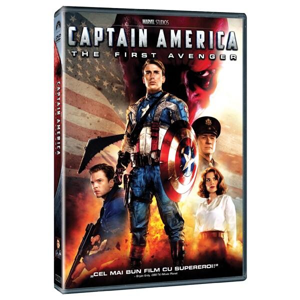 Capitanul America: Primul razbunator DVD