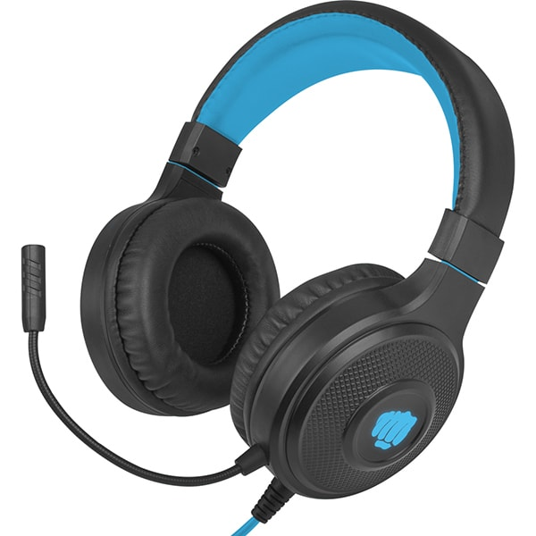 Casti Gaming FURY Warhawk, stereo, 3.5mm, negru-albastru
