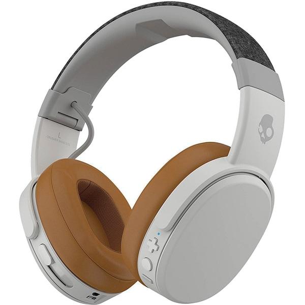 Casti SKULLCANDY Crusher S6CRW-K590, Bluetooth, On-Ear, Microfon, gri