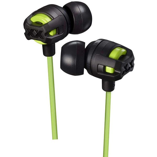 Casti JVC HA-FX103M-GE, Cu Fir, In-Ear, Microfon, verde