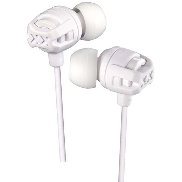 Casti JVC HA-FX103M-WE, Cu Fir, In-Ear, Microfon, alb