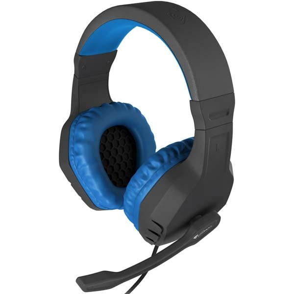 Casti Gaming NATEC Genesis Argon 200, stereo, 3.5mm, albastru