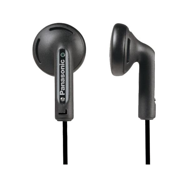 Casti PANASONIC RP-HV154E-K, Cu Fir, In-Ear, negru