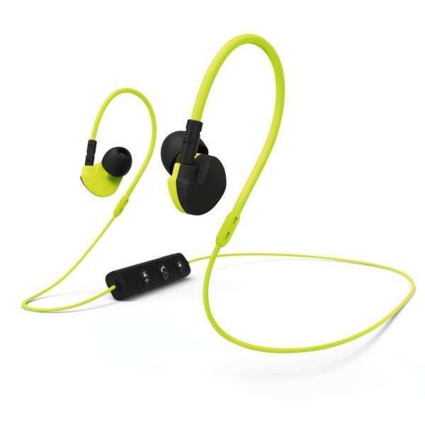 Casti HAMA Run BT, Bluetooth, In-Ear, Microfon, galben