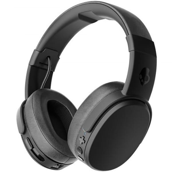 Casti SKULLCANDY Crusher S6CRWK-591, Bluetooth, On-Ear, Microfon, negru