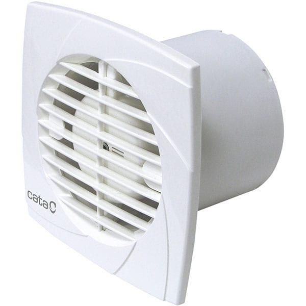 Ventilator baie extractor CATA B-10 PLUS T, 15W, 98mc/h, 98mm, alb
