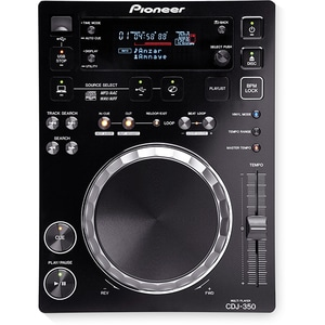 CD player DJ PIONEER CDJ-350, negru
