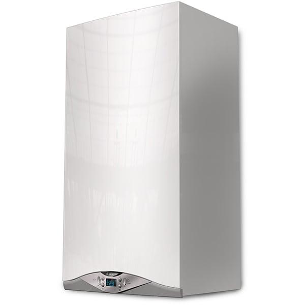 Centrala termica pe gaz in condensare ARISTON Cares Premium 24 EU, 24 kW, Kit evacuare inclus, alb-gri