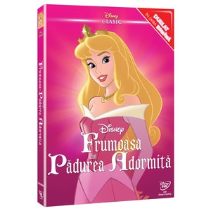 Colectie Disney Clasic Printese - Frumoasa din Padurea Adormita DVD o-ring