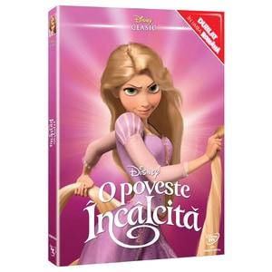 Colectie Disney Clasic Printese - O poveste incalcita DVD o-ring
