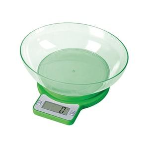 Cantar de bucatarie E-BODA CEB 1011, 5kg, verde-transparent