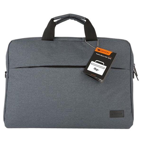 "Geanta laptop CANYON CNE-CB5G4, 15.6"", Polyester, gri"