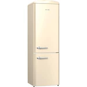 Combina frigorifica GORENJE Retro ONRK193C, No Frost Plus, 307 l, H 194 cm, Clasa A+++, bej