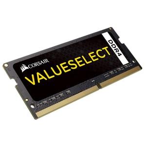 Memorie laptop CORSAIR ValueSelect, 4GB DDR4, 2133MHz, CL15, CMSO4GX4M1A2133C15