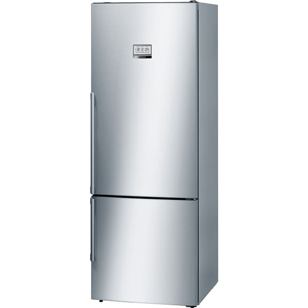 Combina frigorifica BOSCH KGF56PI40, No Frost, 480 l, H 193 cm, Clasa A+++, inox