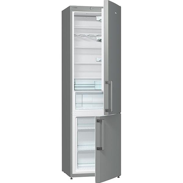 Combina frigorifica GORENJE RK6202EX, FrostLess, 352 l, H 200 cm, Clasa A++, inox
