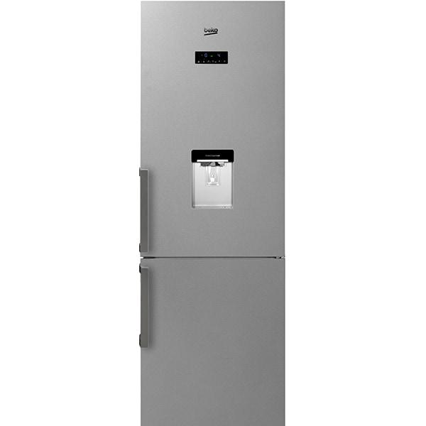 Combina frigorifica BEKO RCNA400E21DZXP, NeoFrost, 351 l, H 201 cm, Clasa A+, dozator apa, inox