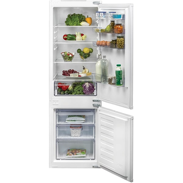 Combina frigorifica incorporabila BEKO BCHA275K3SN, No Frost Freezer, 262 l, H 177.5 cm, Clasa F, alb