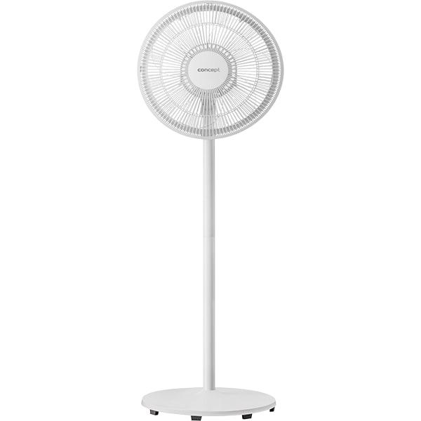 Ventilator cu picior CONCEPT VS5030, 3 trepte de viteza, 35cm, 40W, alb