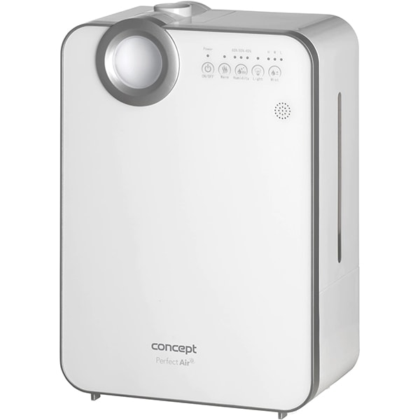 Umidificator de aer CONCEPT ZV2000, 5l, Ionizare, alb