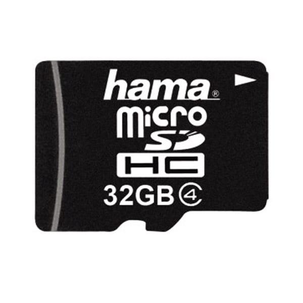 Card de memorie HAMA 114752 microSDHC, 32GB, clasa 4, 10MBs