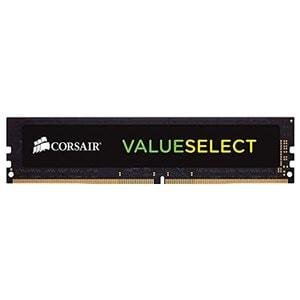 Memorie desktop CORSAIR ValueSelect, 4GB DDR4, 2133MHz, CL15, CMV4GX4M1A2133C15